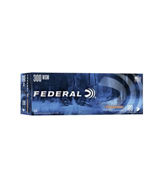 FEDERAL AMMO FEDERAL POWER SHOK 300WSM 180GR JSP