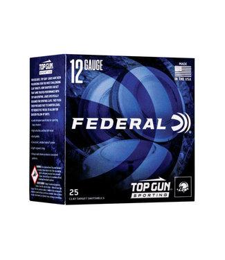 "FEDERAL AMMO FEDERAL PREMIUM TOP GUN TARGET LOAD 12GA 2.75"" 1 1/8OZ #7.5 [ 1145 FPS] [250RND BULK CASE]"