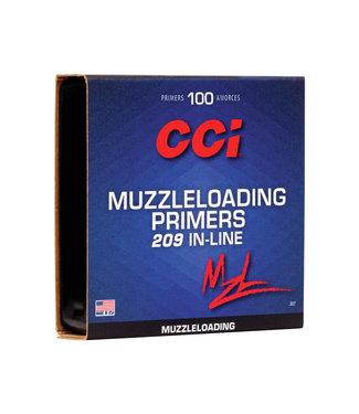 CCI Muzzleloading Primer 209 In-Line [100 PACK]