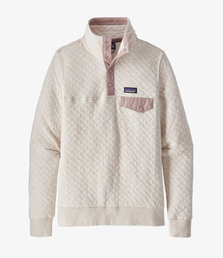 PATAGONIA WOMENS ORGANIC COTTON QUILT SNAP-T PULLOVER SWEATER