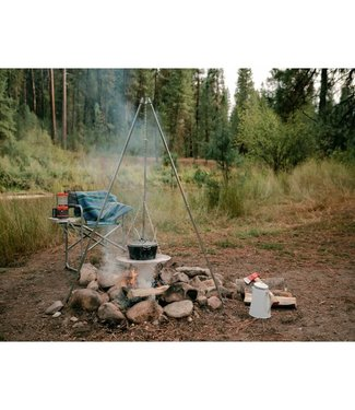 """STANSPORT TRIPOD COOKER WITH 17"""" GRILL"""