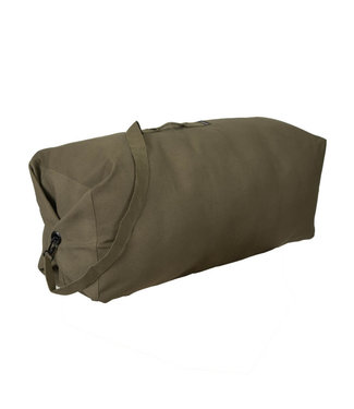STANSPORT TOP LOAD CANVAS DELUXE DUFFEL BAG O.D. GREEN