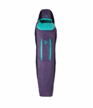 NEMO EQUIPMENT FORTE™  SLEEPING BAG WOMENS 35 REG TWILIGHT/AURORA 2C