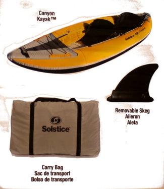 SOLSTICE SOLSTICE Canyon Convertible Inflatable Kayak
