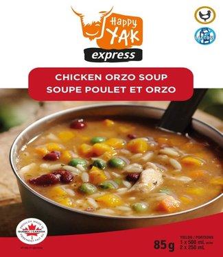 HAPPY YAK Happy Yak Chicken Orzo Soup