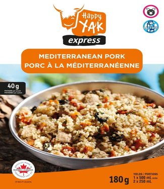 HAPPY YAK Happy Yak Mediterranean Pork