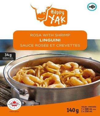 HAPPY YAK Happy Yak Linguini Rosa with Shrimp