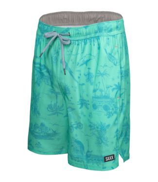 """SAXX Saxx Oh Buoy 7"""" Swim Shorts"""