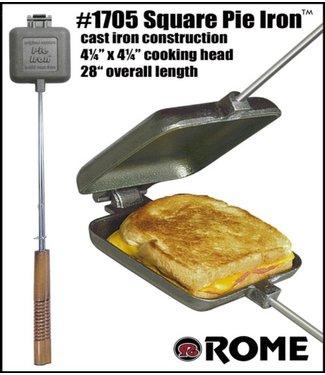 Rome's Square Cast Iron Pie Iron