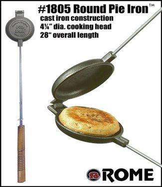 Rome's Round Cast Iron Pie Iron