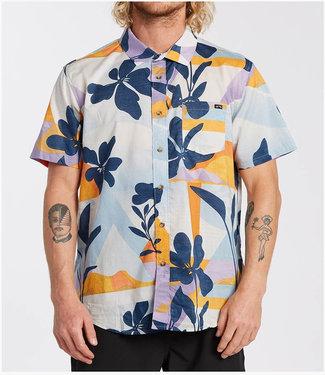 BILLABONG Billabong Men's Sundays Floral Short Sleeve Shirt