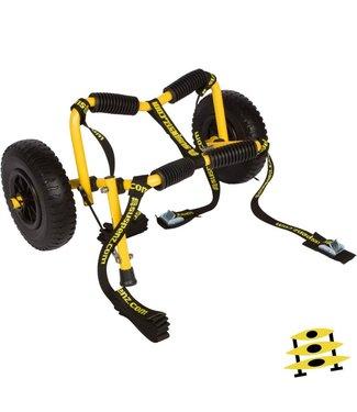 Suspenz Stowable Kayak Airless Cart