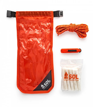 SOL- Survive Outdoors Longer S.O.L Fire Lite Kit in Dry Bag