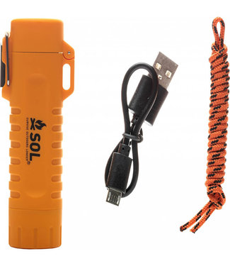 SOL- Survive Outdoors Longer S.O.L Fire Lite Fuel Free Lighter