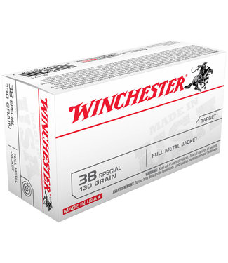 Winchester USA Target 38 SPECIAL 130GR  FMJ