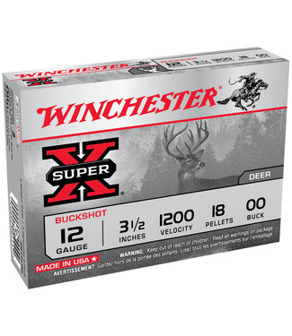 "Winchester Super-X 12GA 3.5"" 00 BUCK"