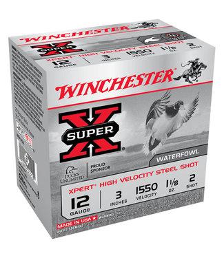 "Winchester Super-X Xpert Steel 12GA 3"" 1 1/8OZ #2"