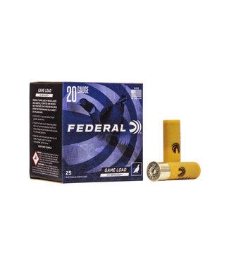 """Federal Game Load Upland Hi-Brass 20GA 2.75"""" 1OZ #5 [1220 FPS]"""