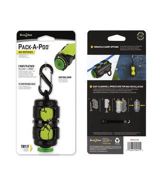 Nite Ize Pack-A-Poo Bag Dispenser + Refill Roll