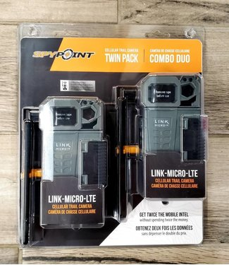 SPYPOINT Spypoint Link Micro LTE Cellular Trail Camera Twin Pack