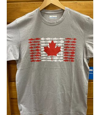 Columbia Men's Canada Fish Flag T-shirt