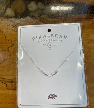 Pika & Bear Wapiti Antler Necklace