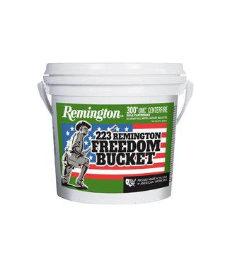 REMINGTON Remington UMC 'Freedom Bucket' 223 REM 55GR FMJ [300 RND Bulk]