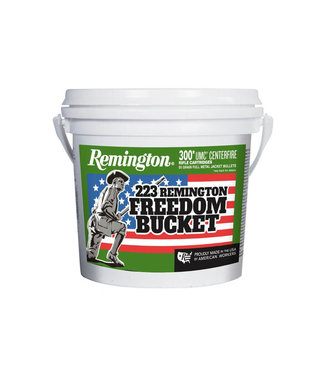 Remington UMC 'Freedom Bucket' 223 REM 55GR FMJ [300 RND Bulk]