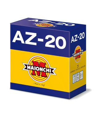"MAIONCHI AZ-20 TARGET LOAD 12GA 2.75"" 1 OZ #8 [250 RNDS BULK CASE]"