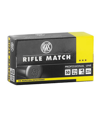 RWS Rifle Match 22LR 40GR [1082 FPS]