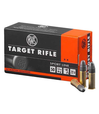 RWS Target Rifle 22LR 40GR [1082 FPS]