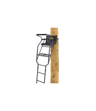 RIVERS EDGE TREESTANDS Rivers Edge Relax Wide 1-Person Ladder Stand