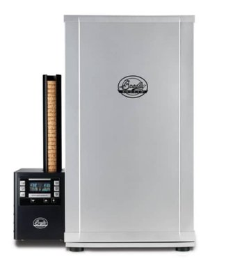 Bradley Smoker Digital 4 Rack Electric Smoker, 31″, Silver