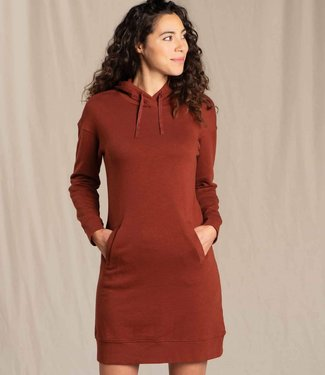 TOAD & CO Toad & Co Women's Follow Through Hooded Dress