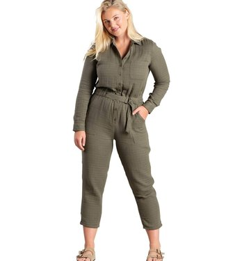 TOAD & CO Toad & Co Women's Tamarac Long Sleeve Jumpsuit