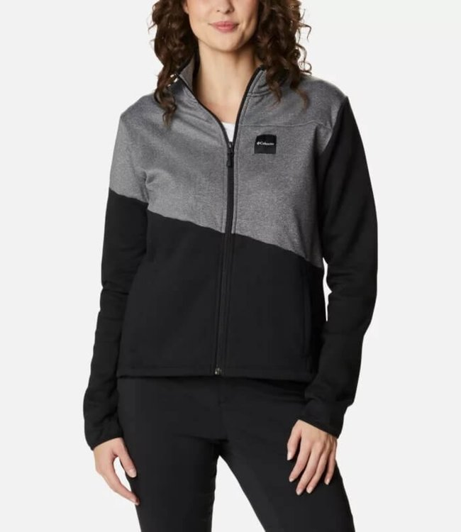 COLUMBIA Columbia Women's Lodge Hybrid Full Zip Sweater