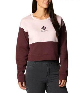 COLUMBIA Columbia Women's Trek Colorblock Crew Sweater
