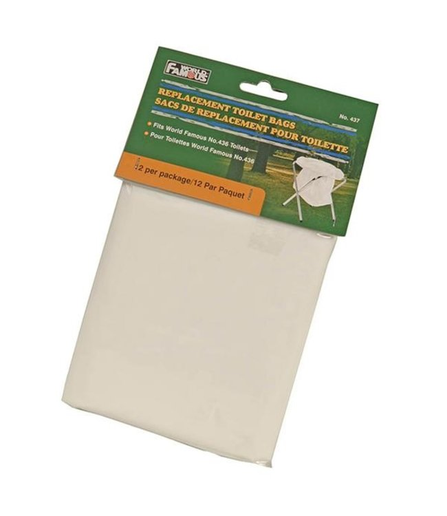 World Famous Replacement Toilet Bags