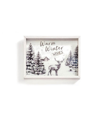 Giftcraft Warm Winter Wishes Frame
