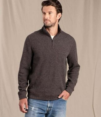 TOAD & CO Toad & Co Men's Breithorn 1/4 Zip Sweater