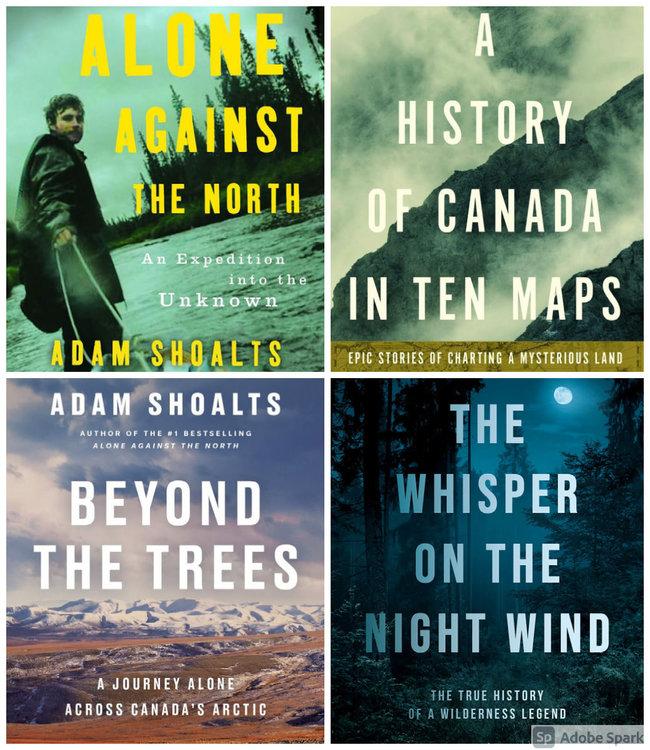 Adam Shoalts Book Bundle