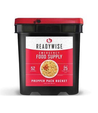 Readywise 52 Serving Prepper Pack Emergency Food Supply Bucket