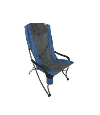 EUREKA Eureka Curvy Highback Folding Chair