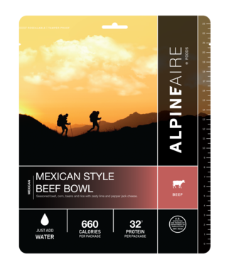 ALPINE AIRE Alpine Aire Mexican Style Beef Bowl