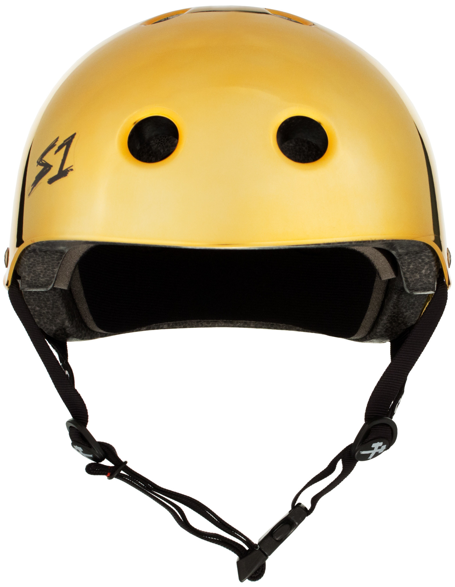 S-1 Lifer Helmet - Gold Mirror Gloss