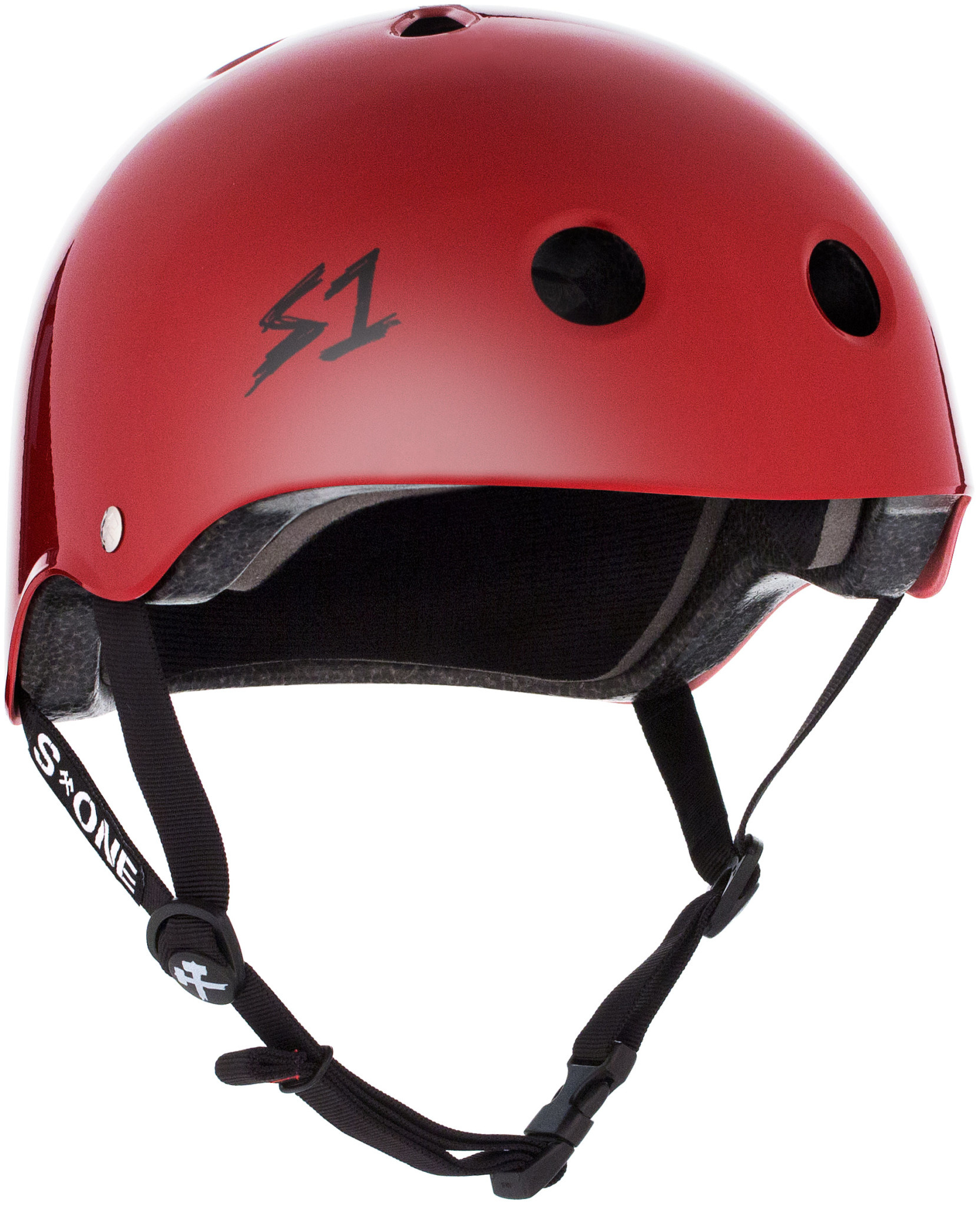 S-1 Lifer Helmet - Scarlet Red Gloss