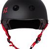 S-1 Lifer Helmet - Black Matte w/ Red Straps