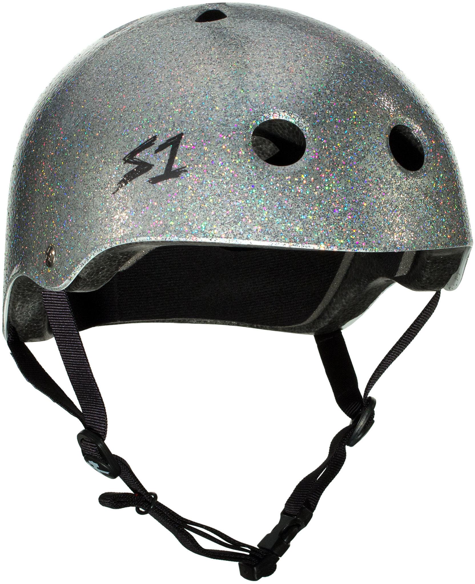 S-1 Lifer Helmet - Silver Gloss Glitter
