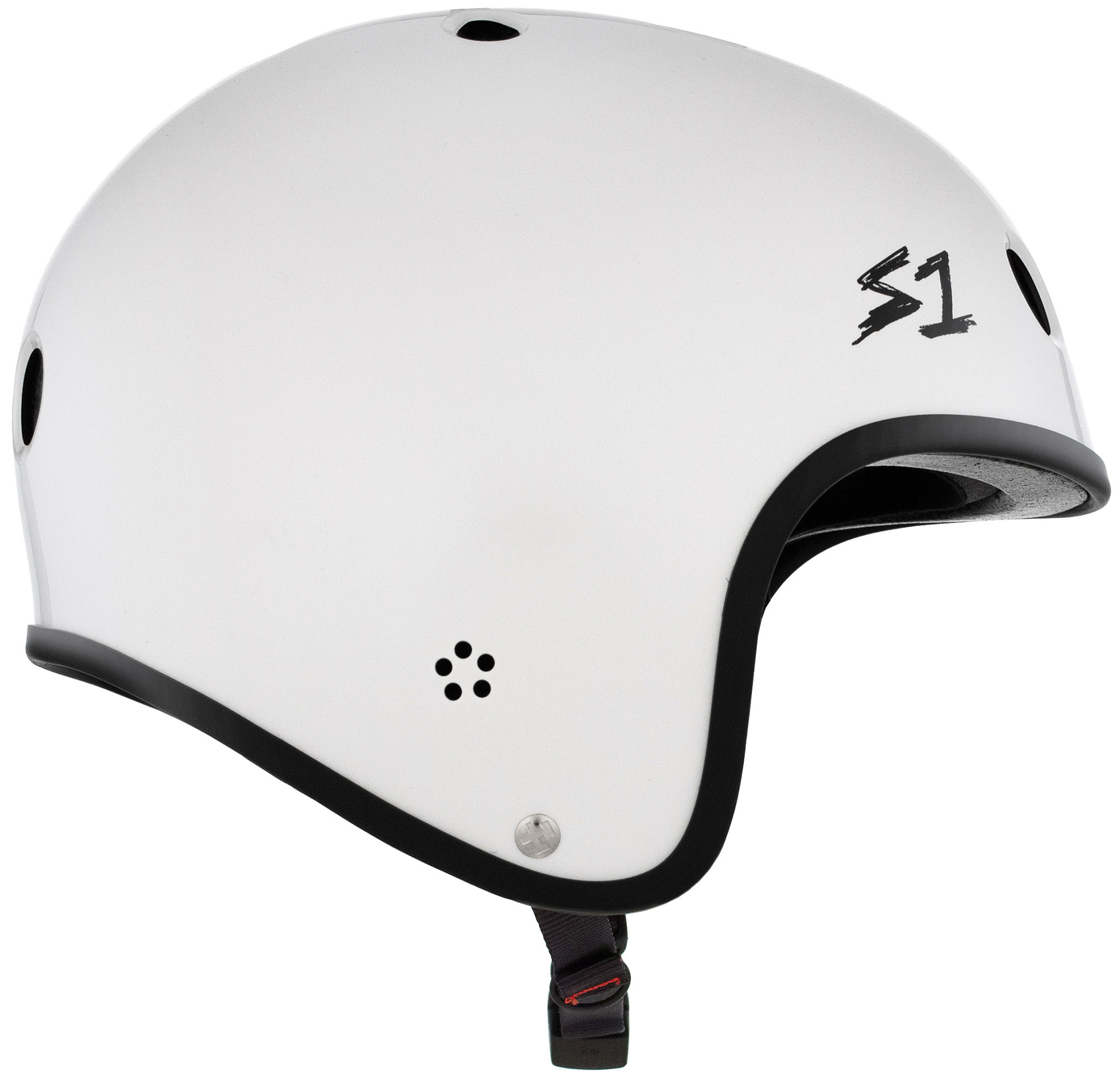 S-1 Retro Lifer Helmet - White Gloss