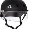 S-1 Lifer Visor Helmet - Black Matte